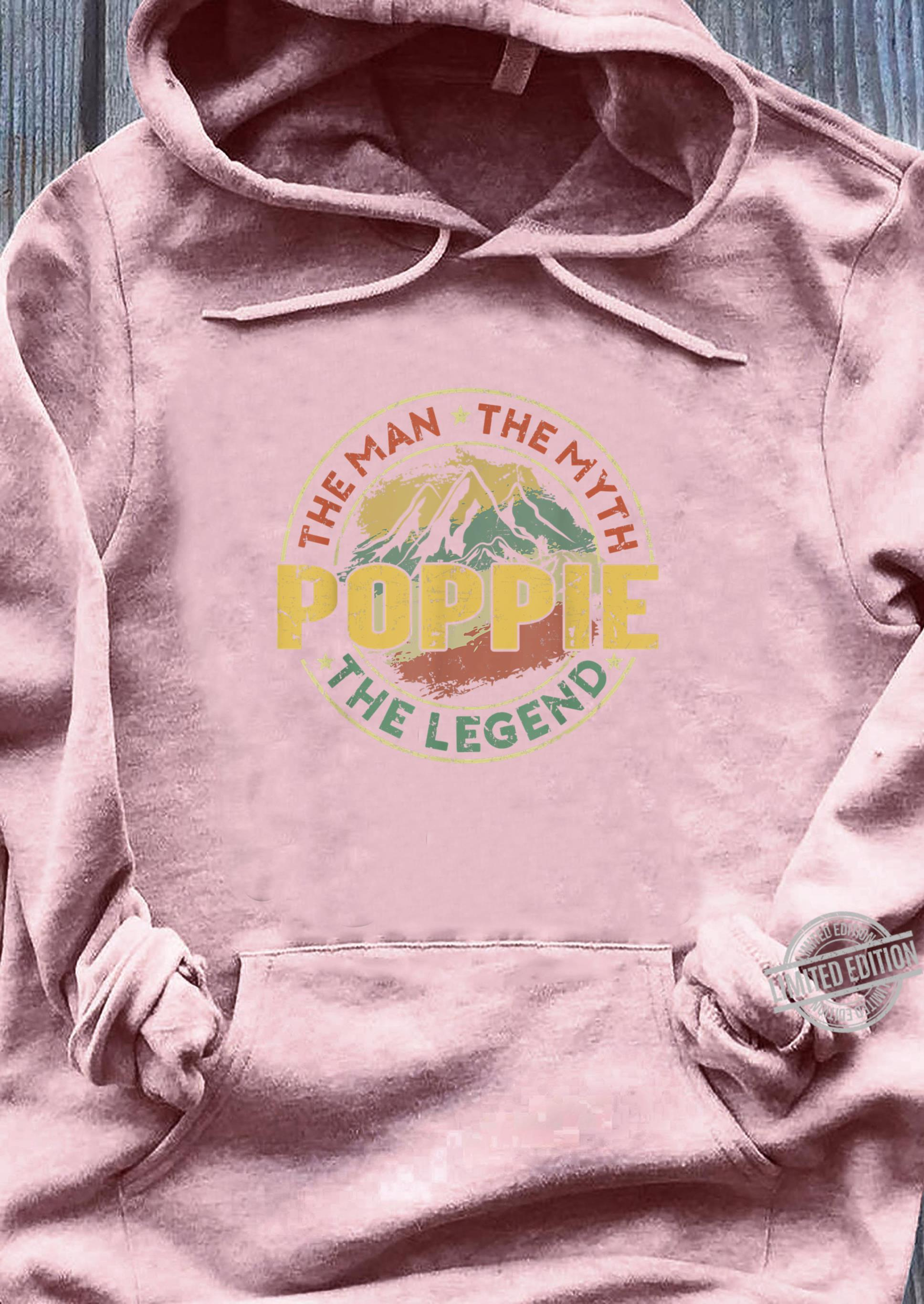 Funny Poppie The Man The Myth The Legend Fathers Day Shirt sweater