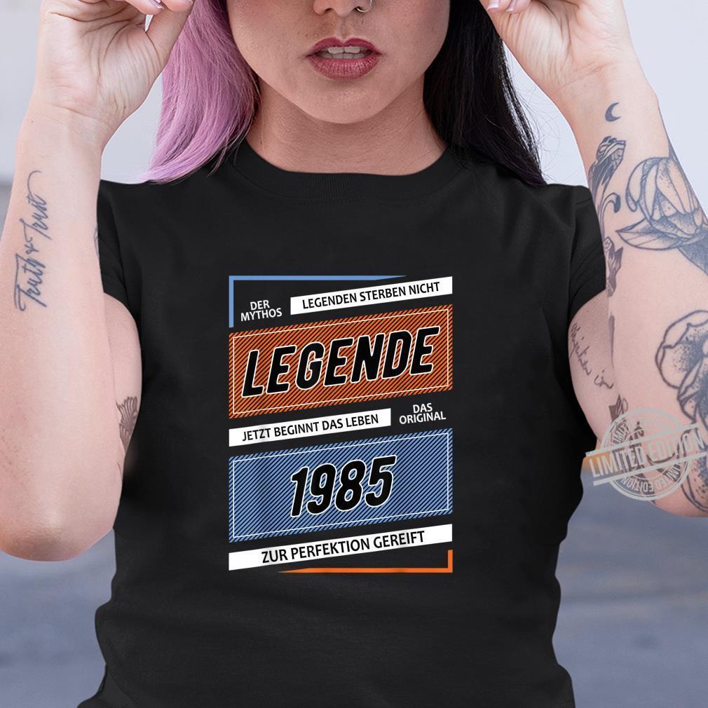 Geschenk zum 35 Geburtstag Jahrgang 1985 35 Jahre 2020 Shirt