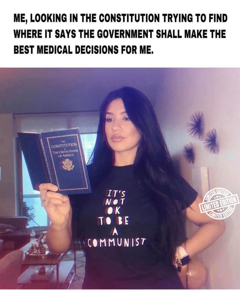 It's not OK to be a communist shirt