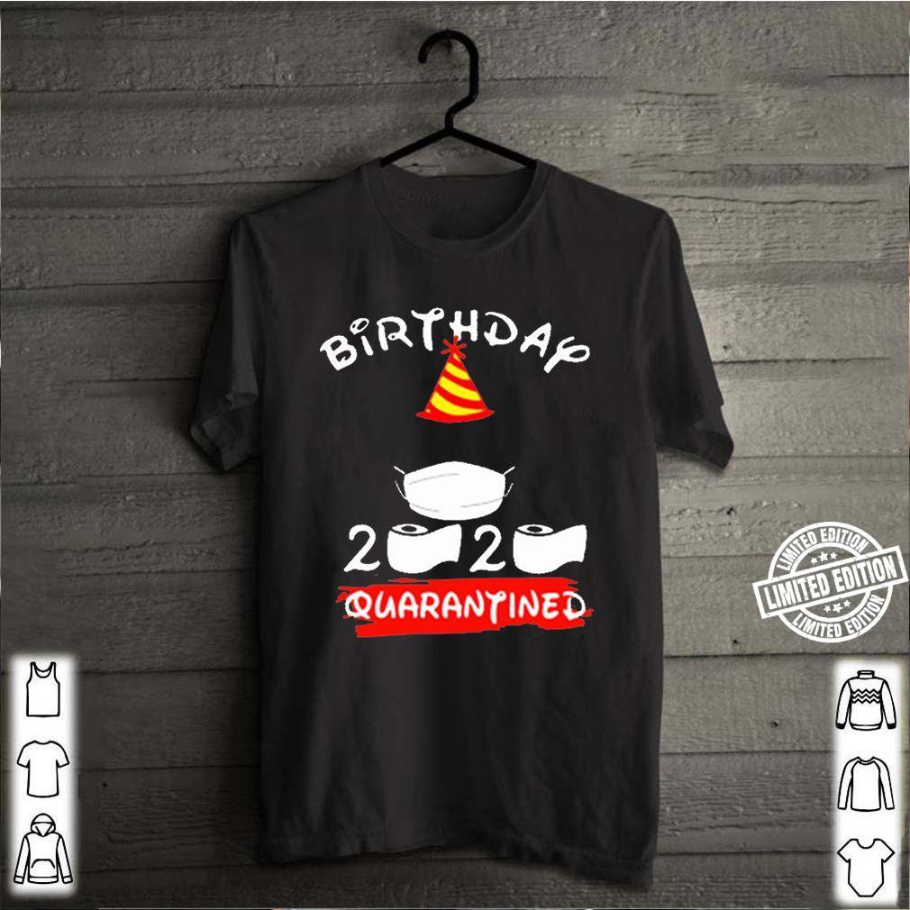 Mickey mouse birthday 2020 quarantine tee shirt