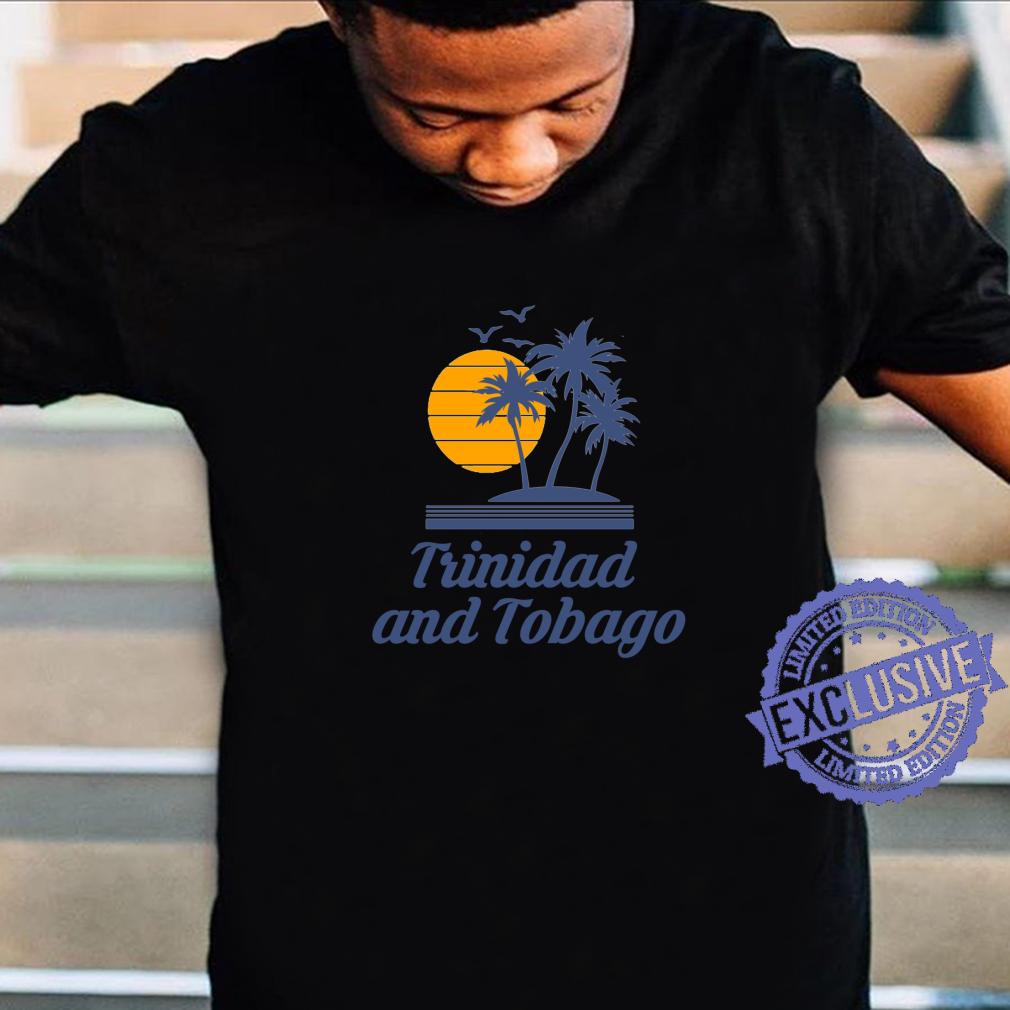 Trinidad and Tobago Caribbean Island Country Beach Shirt
