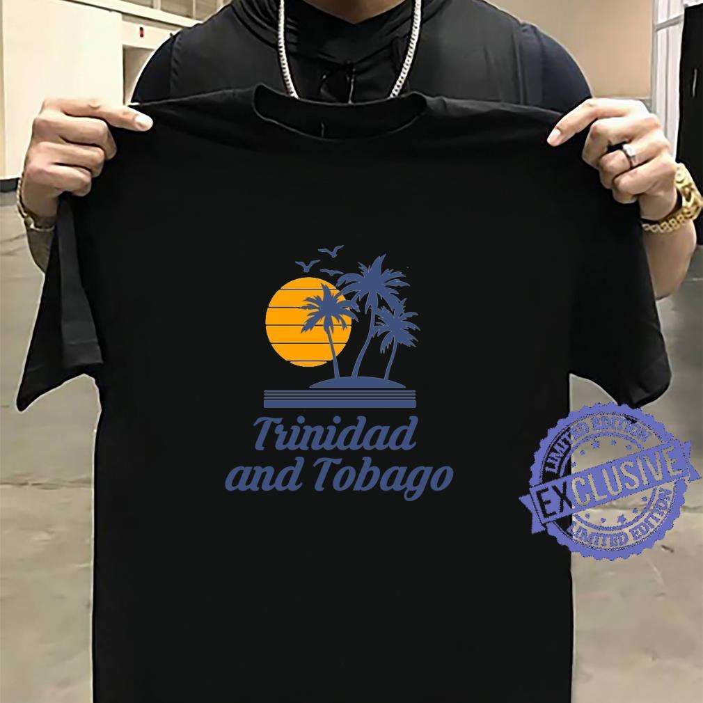 Trinidad and Tobago Caribbean Island Country Beach Shirt sweater