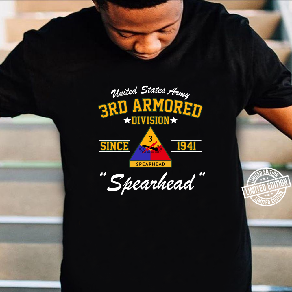 US Army 3rd Armored Division Shirt